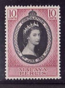 Sarawak.-Malaya-PerSc #182-unused,hinged-3c green-KGVI-1950-