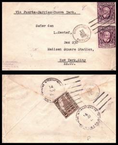 Goldpath: Guatemala cover, 1929, To New York NY USA , CV23_P13
