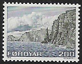 Faroe Islands # 15 - Coast of Sandoy - MNH
