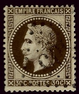 France SC#34 Used F-VF hr...Worth a Close look!!