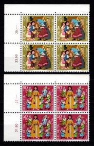 Switzerland Pro Juventute 1985 Children's Fund Part Block Set [Mint]