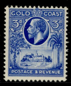 GOLD COAST GV SG108, 3d bright blue, M MINT.
