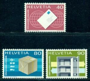Switzerland #9O10-9O12 Part Set  Mint  VF LH  Scott $4.95...