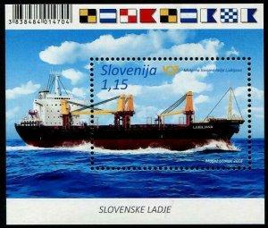 HERRICKSTAMP NEW ISSUES SLOVENIA Sc.# 1283 Ships 2018 Souvenir Sheet