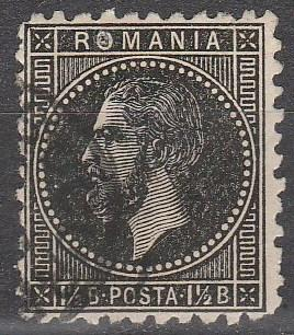 Romania #66  F-VF Used CV $4.25  (A6718)