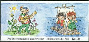 NORWAY #850-1 (H62) Complete Booklet, VF, Facit $37.00