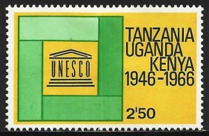 Kenya, Uganda & Tanzania 1966 Scott# 171 MH (gum disturbance)