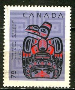 Canada; 1990: Sc. # 1296: O/Used Single Stamp