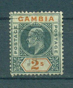 Gambia sc# 37 used cat value $75.00