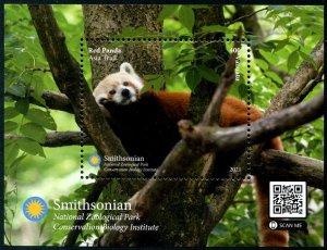 2021 Vanuatu Red Panda SS (Scott NA) MNH