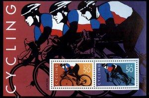 #3119 50c Cycling S/S - XF og NH - w/FREE SHIPPING