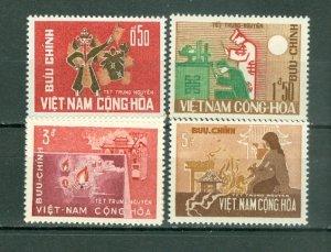 VIETNAM  PAPER SOLDIERS #283-86 MNH...$5.05