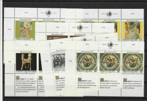 United Nations Mint Never Hinged Stamps  ref R 18292