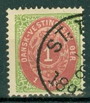 Danish West Indies - 5 Used
