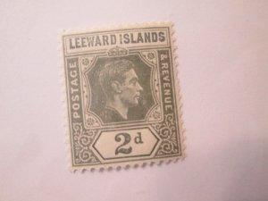 Leeward Islands #107 MH  2019 SCV = $2.00