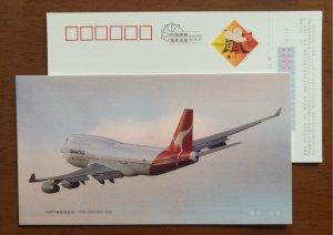 Boeing 747-400 wide body airliner Airplane,CN 08 Airlines Qantas Airways PSC