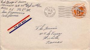 United States, U.S. A.P.O.'s, Airmail, Postal Stationery