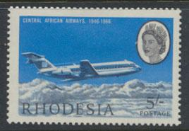 Rhodesia SG 396 SC# 244 MH Aviation Central African Airways see details