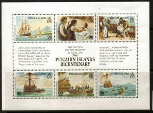 PITCAIRN ISLANDS SG341a 1989 PITCAIRN ISLANDS SETTLEMENTS MNH