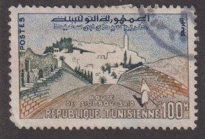 Tunisia 362 The Road to Sidi-bou-Said 1959