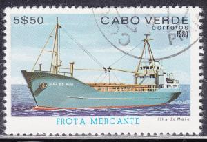 Cape Verde 423 Used 1980 Ilha do Maio