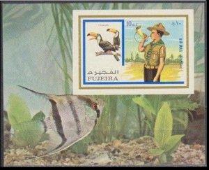 1972 Fujeira 1018/B107b Scouts / Birds 11,00 €