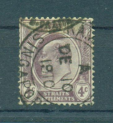 Straits Settlements sc# 112 (1) used cat value $.25