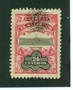 El Salvador 1907 #363 MH SCV (2020) = $0.25