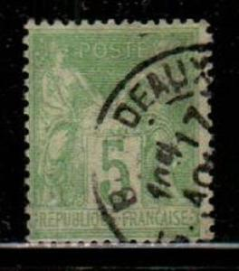 France Scott 67 Used (Catalog Value $45.00)