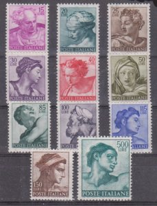 MNH Italy 11 Famous Historical Figures - See Scan