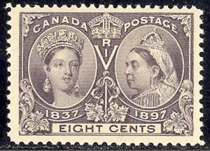 Canada #56 Mint XF NH
