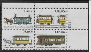 UNITED STATES SC# 2059-62 PB/4 VF/MNH