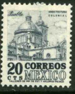 MEXICO 878, 20cents 1950 Definitive 2nd Printing wmk 300. MINT, NH. F-VF.