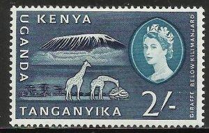 Kenya, Uganda & Tanzania 1960 Scott# 131 MH