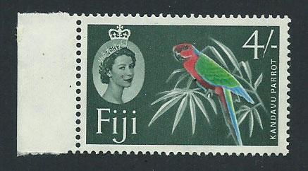 Fiji  QE II SG 308  MUH margin hinged