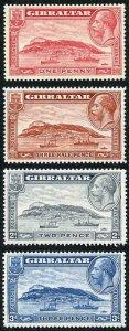 Gibraltar SG110/13 1931 Rock set M/M