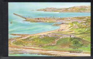 Alderney 137b//141d Garrison Island stamp booklet mint NH