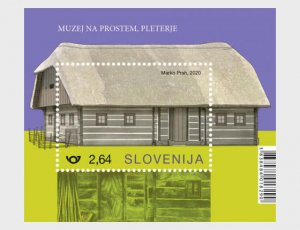 2020 Slovenia House in Open-Air Museum SS (Scott NA) MNH