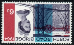 1964 Sg 660Wi Forth Road Bridge (Ordinary) Inverted Watermark Unmounted Mint