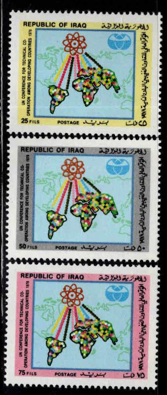 IRAQ Scott 897-899  MNH** Atom set