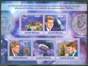 GUINEA BISSAU 2013 50th MEMORIAL PRESIDENT JOHN F KENNEDY  SHEET MINT NH