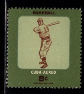 Cuba - #C158 baseball Player - MH