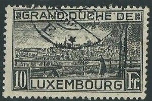 1923 Luxembourg Scott Catalog Number 152 Used