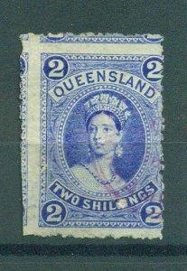 Queensland sc# 74 (2) used cat value $70.00