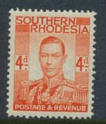 Southern Rhodesia  SG 43  Mint very light trace of Hinge