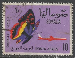 SOMALIA C81 VFU BUTTERFLY Y863-1