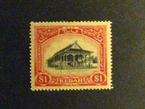 Malaya-Kedah #42 mint hinged  a198.9485