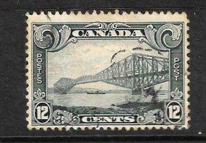 CANADA 1928-29  12c  PICTORIAL  FU  Sc 156