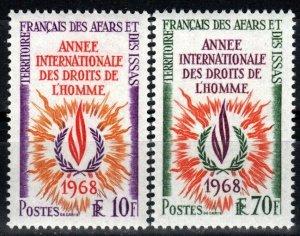 Afars And Issas #322-3 MNH CV $6.75   (X811)