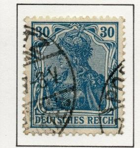 Germany 1920-22 WMK Losanges Early Issue Fine Used 30pf. 293343